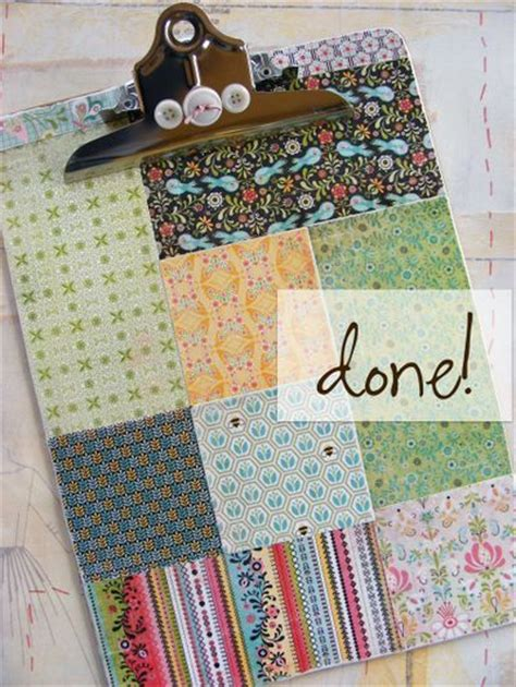 decoupage clipboard tutorial patchwork clipboard a tutorial i love this