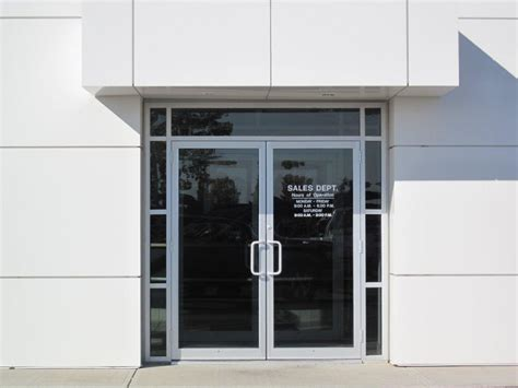 Commercial Exterior Doors Shop Door The Color And Design Of That Door Is Beautiful