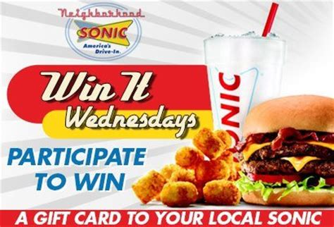 Sonic Gift Card Promotion Code - sonic drive in coupons coupons 4 utah