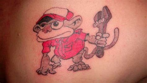 grease monkey tattoo grease monkey