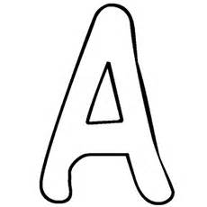 Letter A Coloring Pages  Free Printables MomJunction sketch template