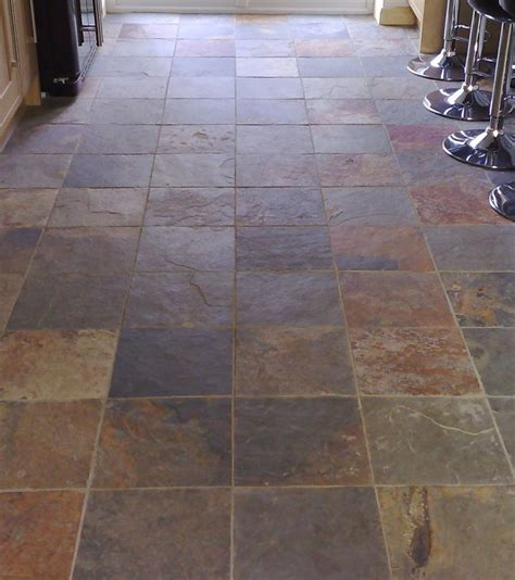rustic floor tile home design