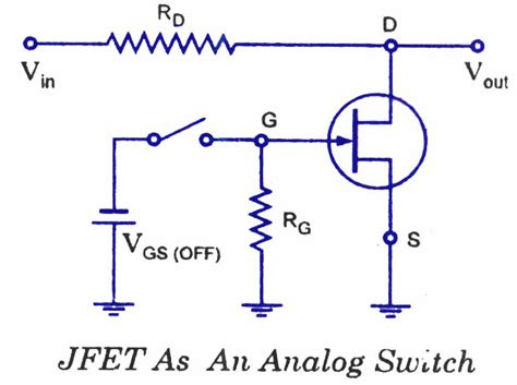 fet transistor explanation fet applications electronic circuits and diagrams electronic projects and design