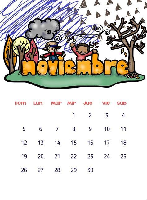 noviembre 2013 nino infantil calendarios 2017 para ni 241 os con dibujos para descargar e