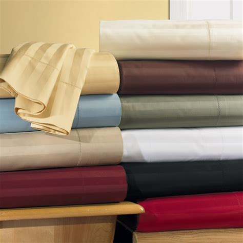 water bed sheets 300tc cal king waterbed stripe sheet set