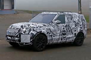 new land rover cars a new discovery land rover s 2016 disco spied plus info
