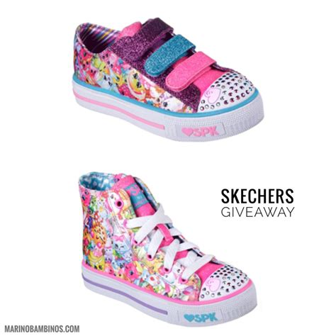 s skechers sneakers shopkins macaron caf 233 and skeckers giveaway marinobambinos