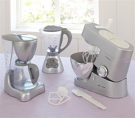 play kitchen appliances silver kitchen appliances pottery barn kids