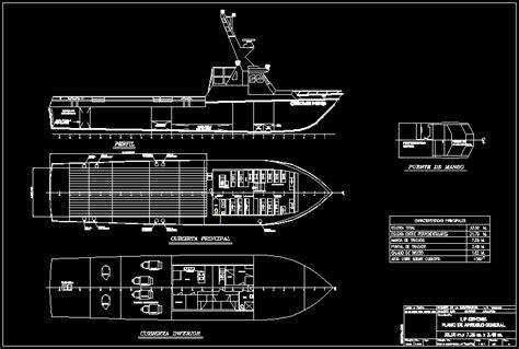 gemini boat dwg block  autocad designs cad
