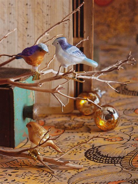 unique christmas tree ornaments 27 pc clip on bird