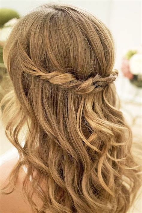hairstyles down for wedding guest easy hairstyles for weddings long hair best 25 easy