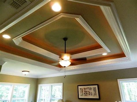 tray ceiling molding home architectural design