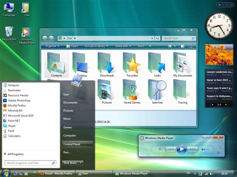 windows 10 theme download for windows 7 32 bit get windows vista look feel in windows 7
