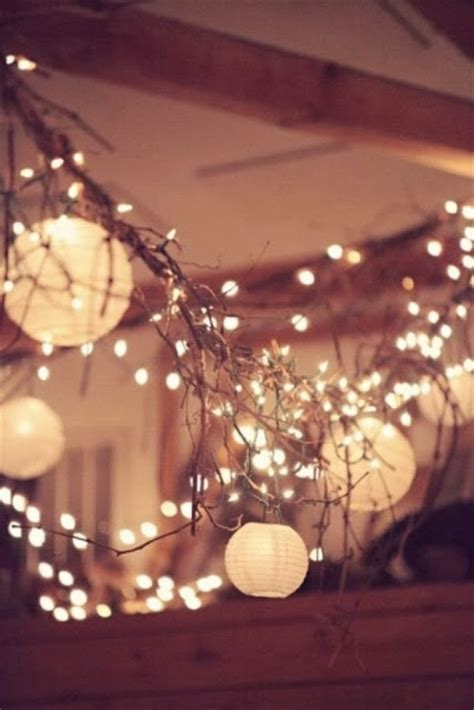 Very Best Pinterest Pins: Rustic Country Wedding Lights