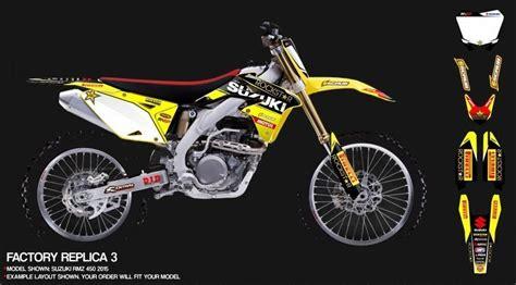 Suzuki Rm 125 Aufkleber by Airbrush Aufkleber Yellow Air Motocross Die Cut Stickers