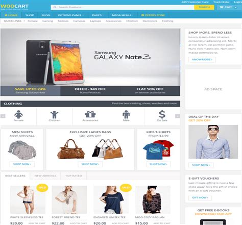 25 premium wordpress ecommerce themes 2018