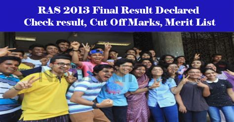 final cut pro jobs in pune ras exam 2013 final result declared check result cut off