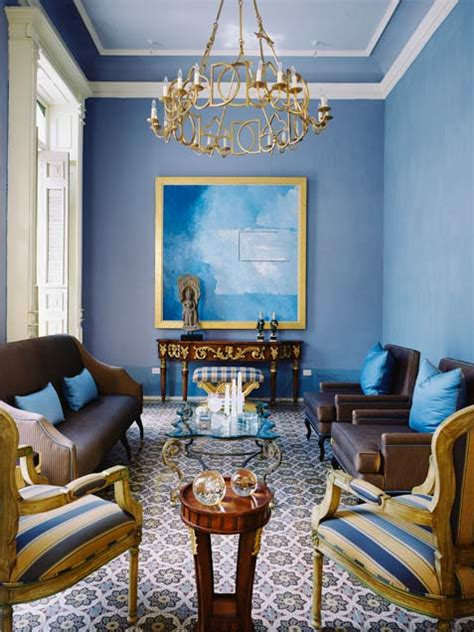 Blue And Gold Bedroom Decor by 50 Bright And Colorful Room Design Ideas Digsdigs