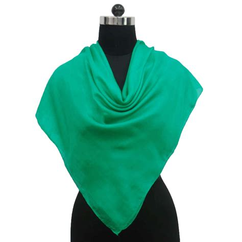 new fashion silk scarf solid neck scarves