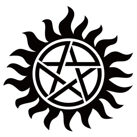 supernatural tattoos 35 best supernatural designs protect yourself