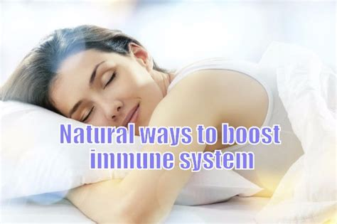 6 Ways To Maximize Your Sleep by 6 Effective Ways To Boost Immune System