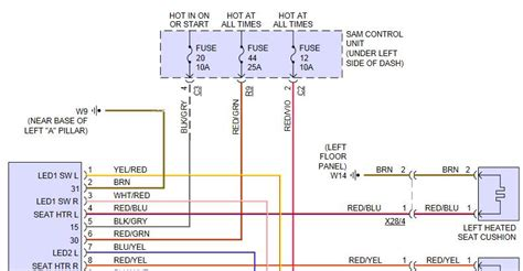smart car wiring diagram heated seat wiring and modifications and