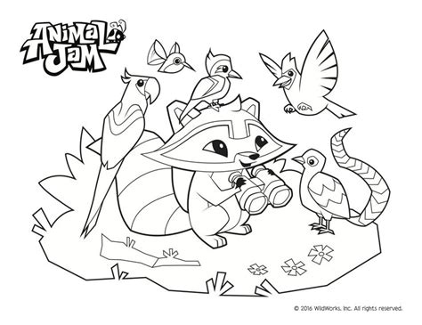 coloring pages of animal jam 17 best images about arts and crafts on
