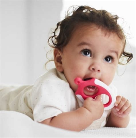 Tommee Tippee Teether Stage 1 Gigitan Bayi Mainan Gigitan Anak Edukasi tommee tippee easy reach teether stage 3