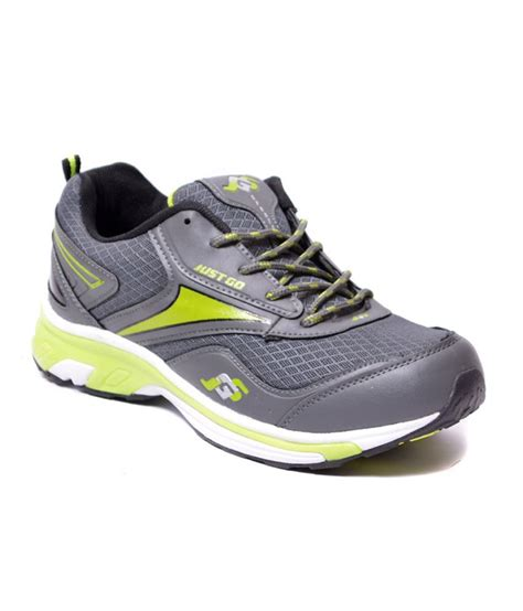 just sports shoes just go grey green running sport shoes price in