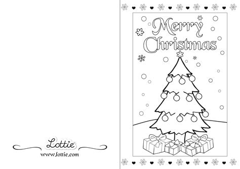 christmas card coloring printable ni hao kai lin coloring
