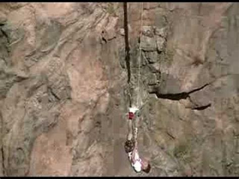 grand canyon rope swing cost 1200 foot bungee swing over royal gorge canyon colorado