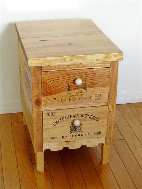crate side table 203 best unique wooden wine crate and box projects images on storage ideas