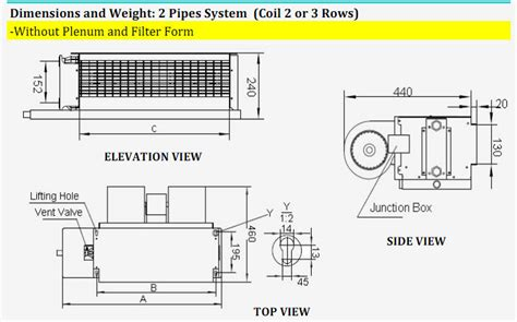 fan coil unit pdf chilled water fan coil horizontal fan coil concealed duct