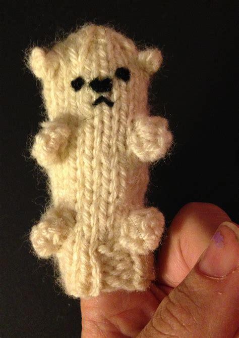 polar bear knitting patterns in the loop knitting