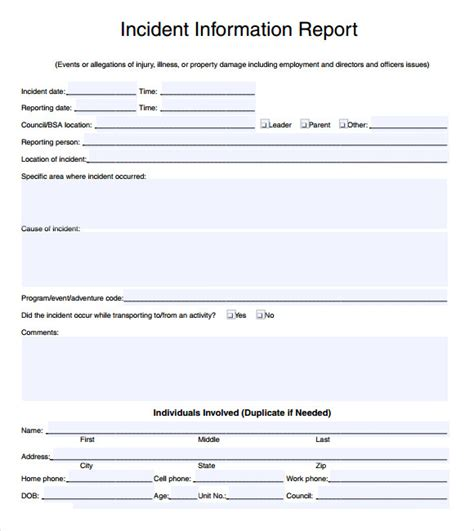 sle incident report 16 documents in pdf word