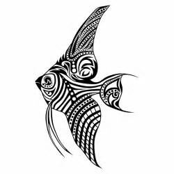 tribal fish tattoo only tribal