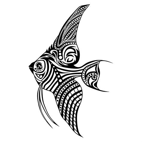 tribal fish tattoos tribal fish only tribal