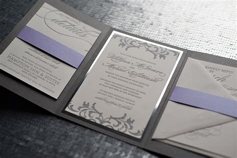 silver wedding invitations templates silver wedding invitations cloveranddot