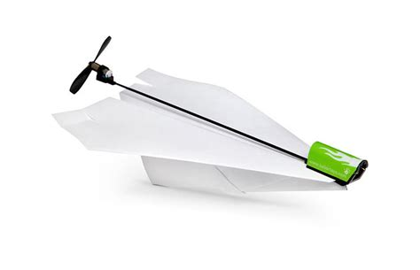 powerup electric paper airplane conversion kit the