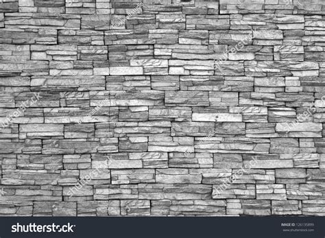 modern brick wall modern brick wall monochrome photo stock photo 126135899
