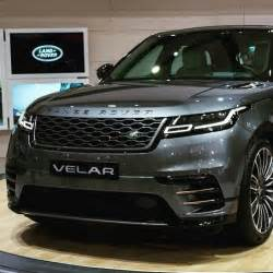the range rover velar at the seoul motor show rangerover