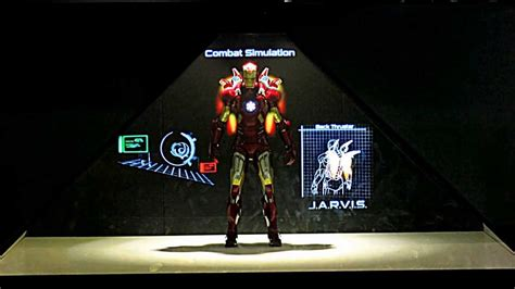 iron man holographic display suit hysan place