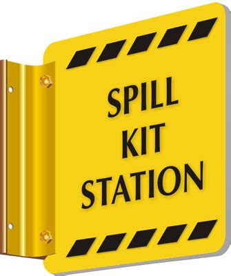 Swipe All C88 Chemical Spill Kit spot a signs