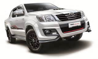 Toyota Hilux 2015 2015 Toyota Hilux Updated New Trd Sportivo Variant