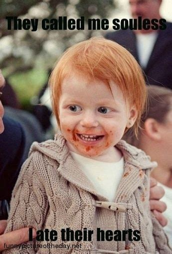 Meme Red Hair Kid - redhead quotes and humor quotesgram