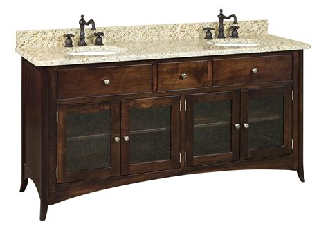 amish bathroom vanities amish 72 quot santa barbara bathroom vanity cabinet