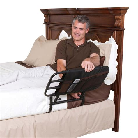 stander ez adjust bed rail amazon com stander ez adjust pivoting home bed rail 3