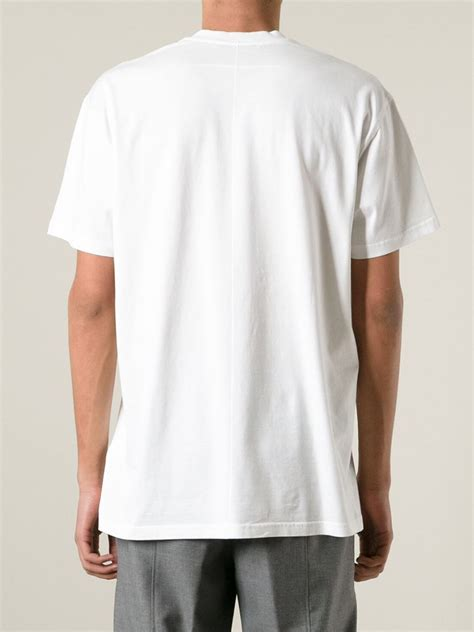 Kaosbajut Shirt Godbless 1 givenchy god bless cotton t shirt in white for lyst