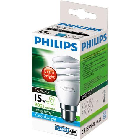 Lu Philips Tornado 15w philips cfl tornado cool daylight 15w bc base each