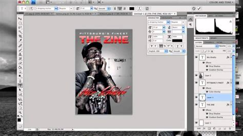 tutorial indesign jornal photoshop tutorial how to make a magazine cover youtube